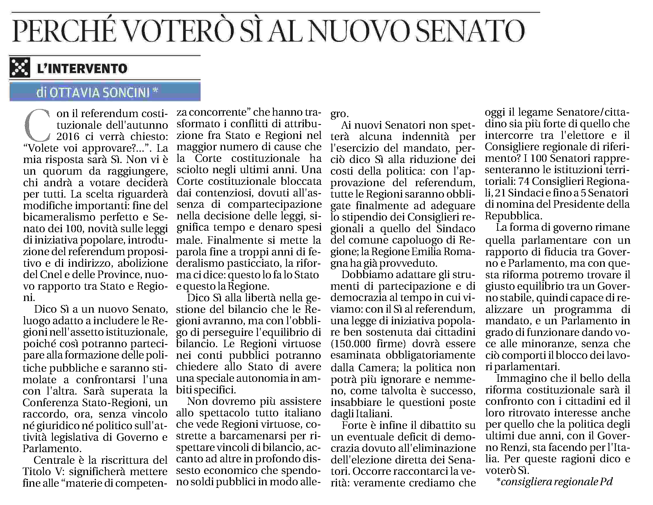 editoriale referendum cost